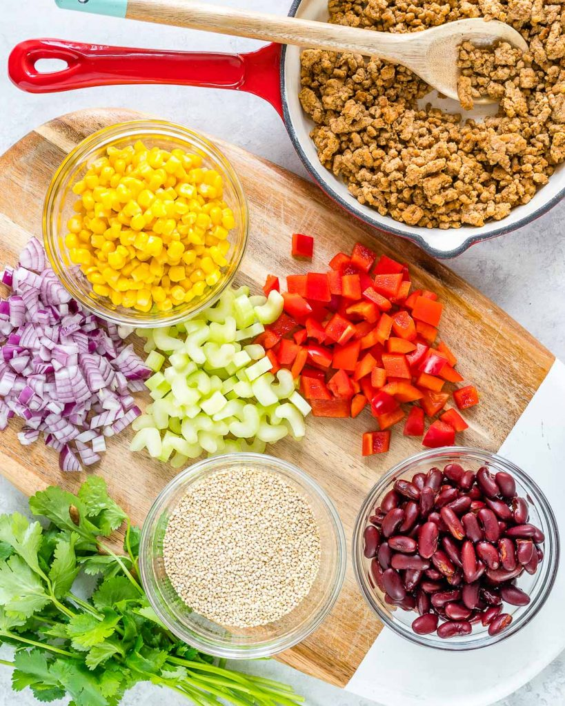 Crock Pot Mexican Casserole Ingredients