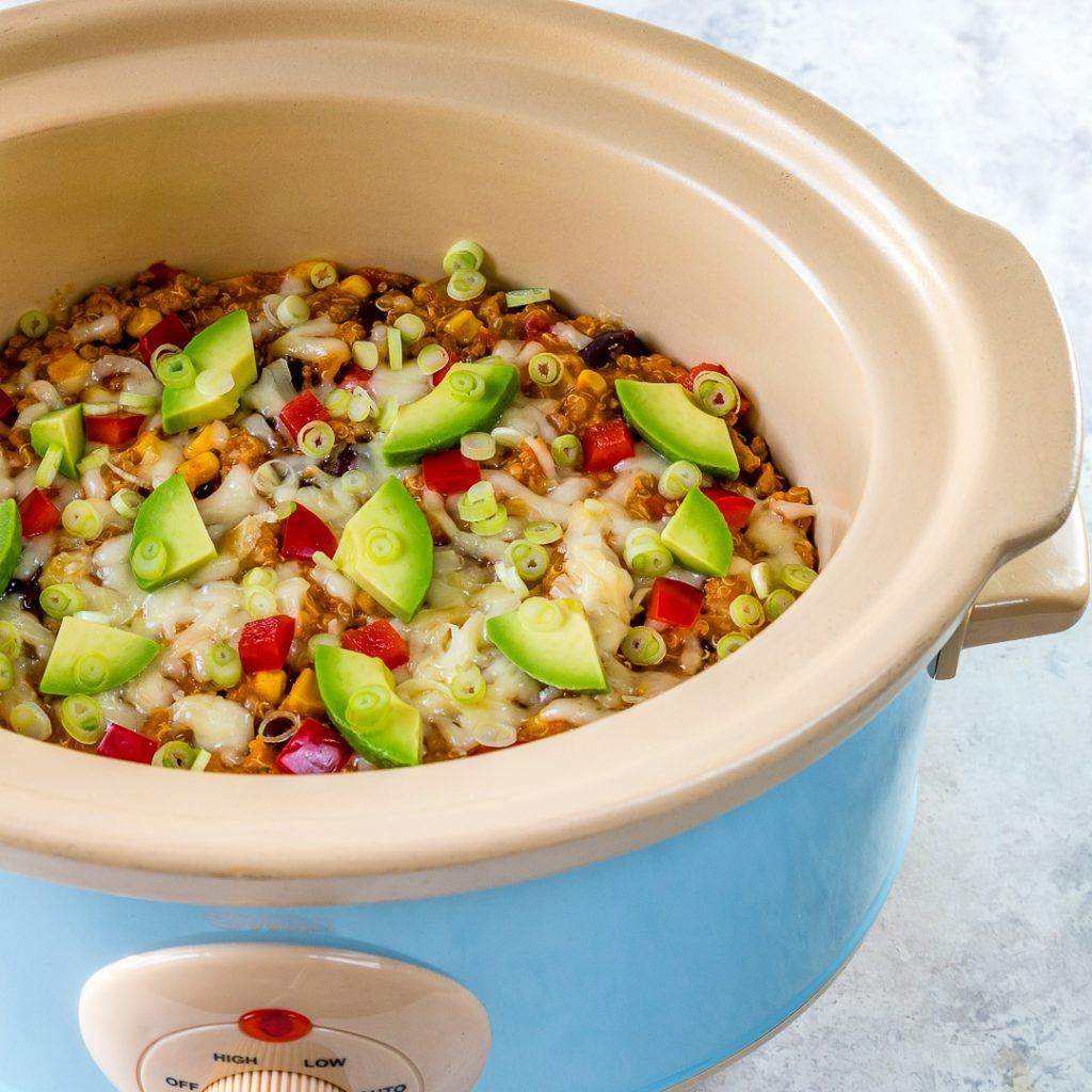 Clean Crock Pot Mexican Casserole
