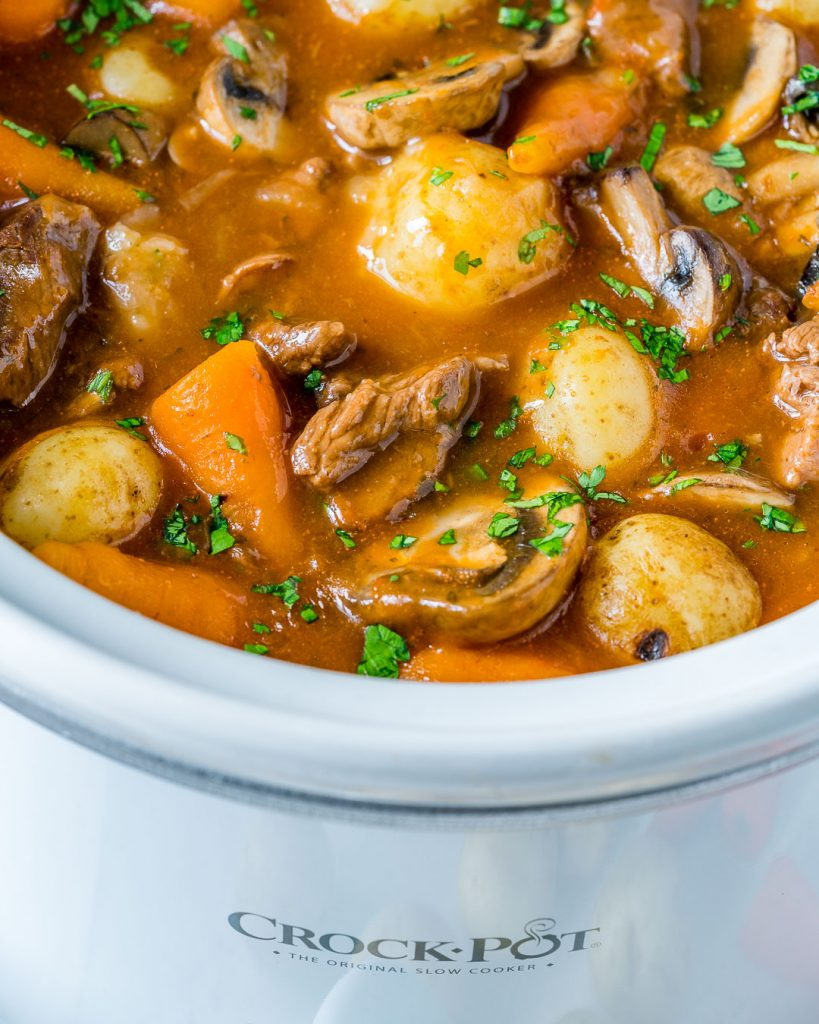 Delicious Slow Cooker Beef Bourguignon