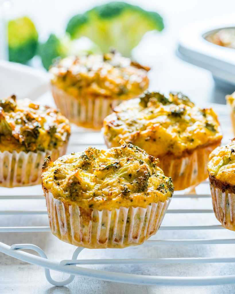 Breakfast Broccoli Egg Muffins