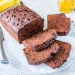 Eat Clean Chocolate PB Banana Bread Recipe