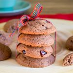 Eat Clean Cranberry Double Chocolate Cookies