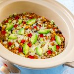 Eat Clean Crock Pot Mexican Casserole