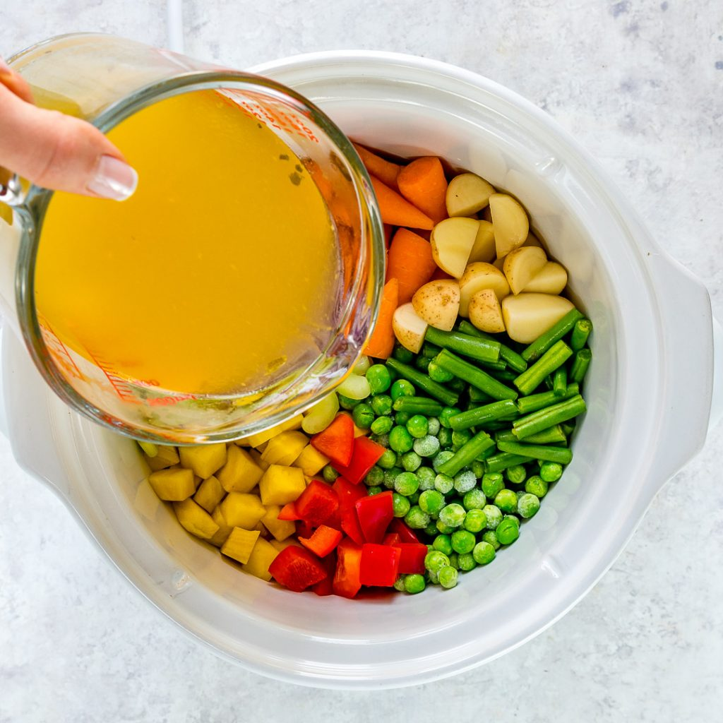Eat Clean Nourishing Crockpot Vegetable Soup