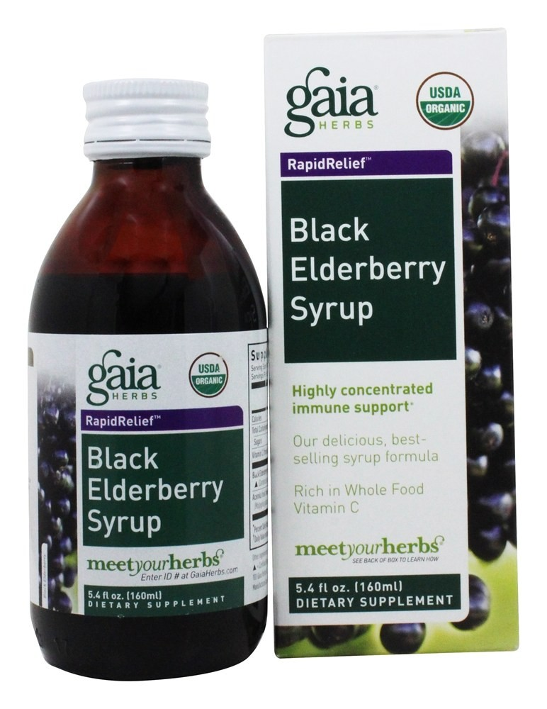 Gaia Herbs Elderberry Syrup