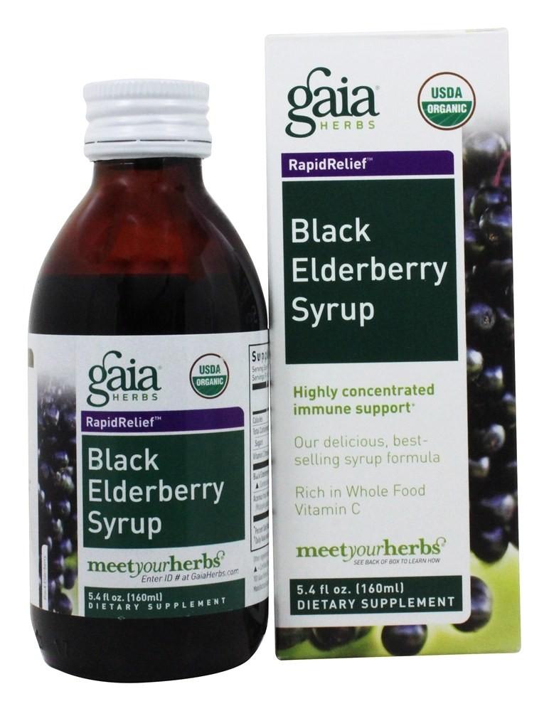 Gaia Herbs Elderberry Syrup