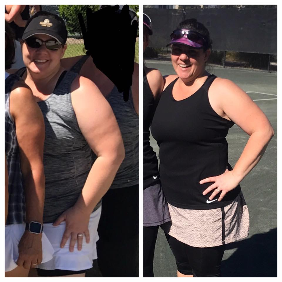 Laurie's Before and After Clean Eating