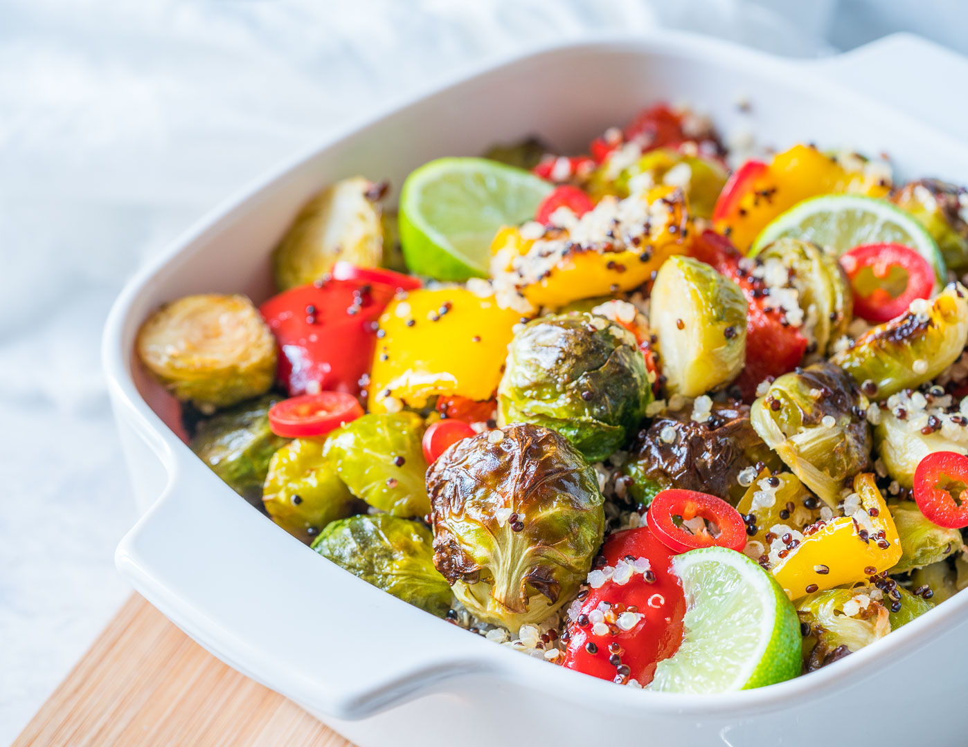 Quinoa and Brussels Dressing Recipe