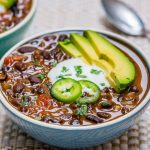 Eat Clean Best EVER Black Bean Soup Recipe