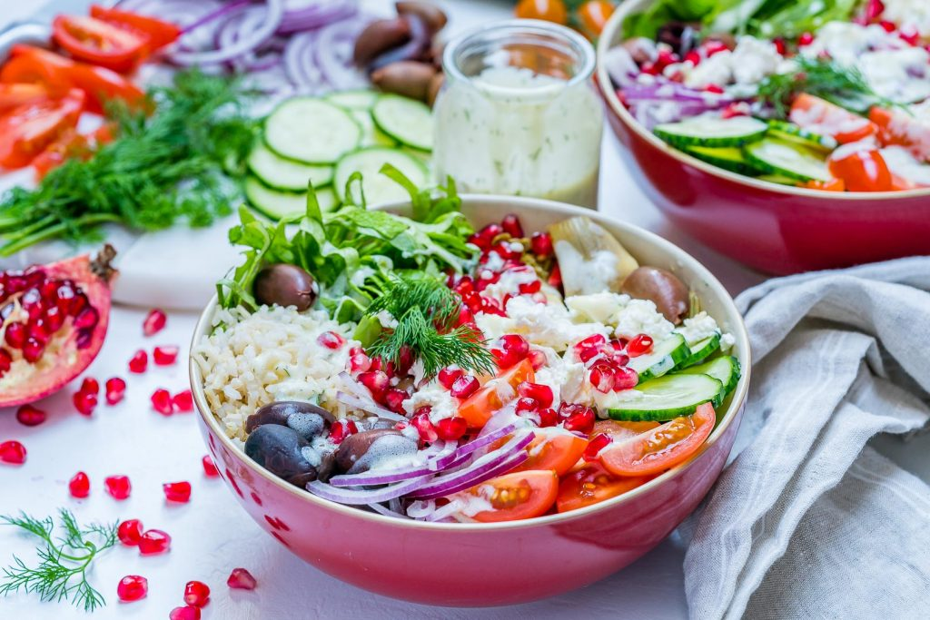 Eat Clean Mediterranean Green Power Bowls