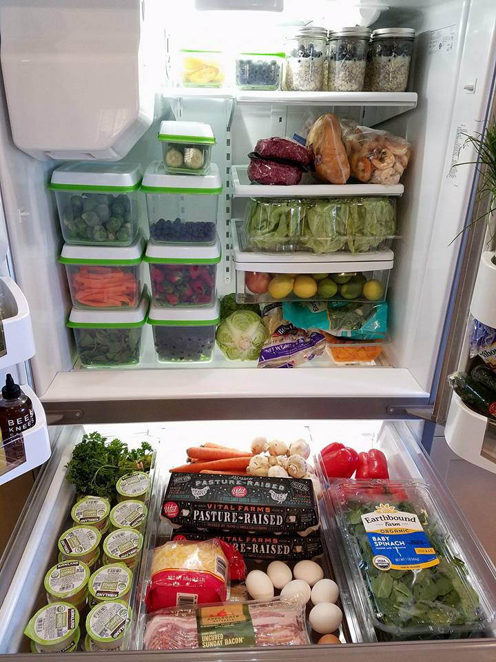 Fridge Full of Healthy Foods