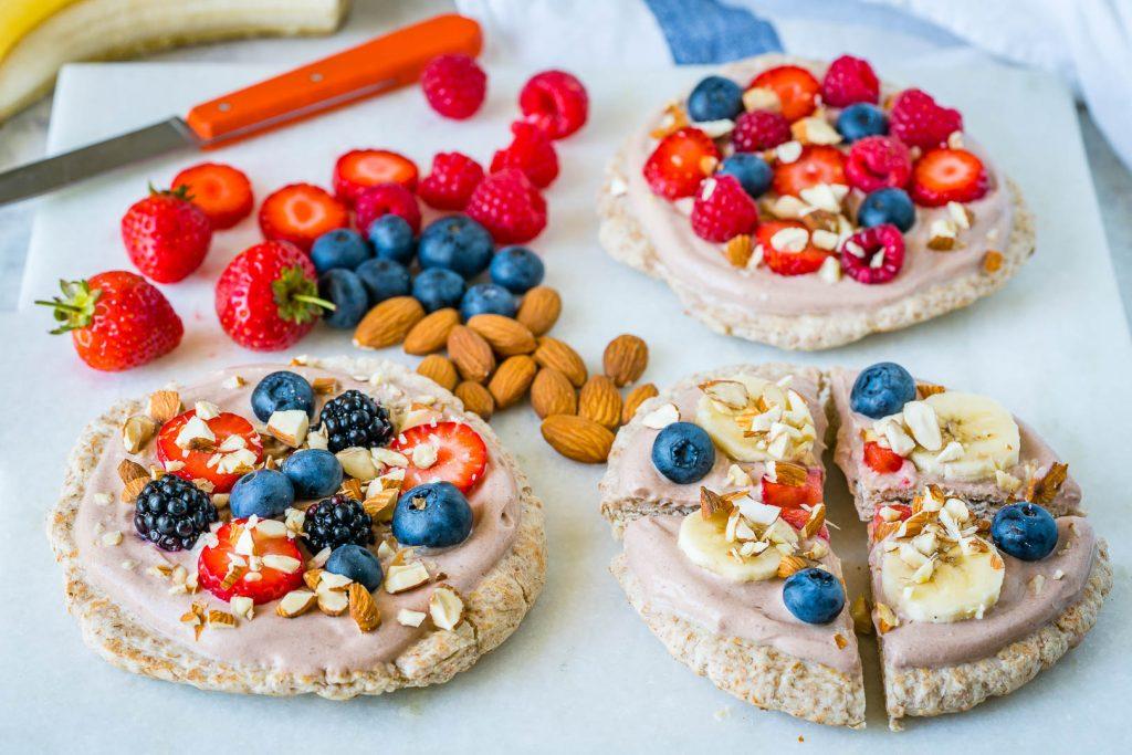 Mini Superfood B-fast Pizza Recipe