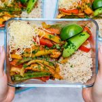 Oven-Baked Chicken Fajita Bowls Clean Recipe