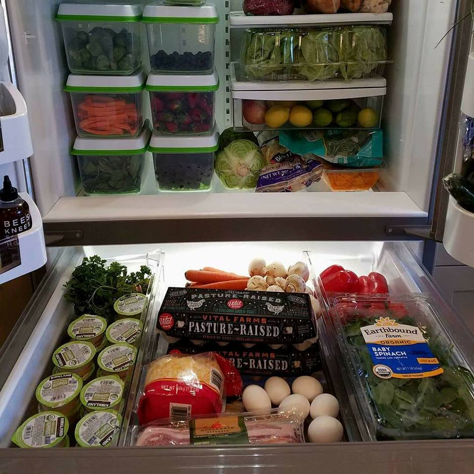 Rachel Maser CleamFoodCrush Fridge