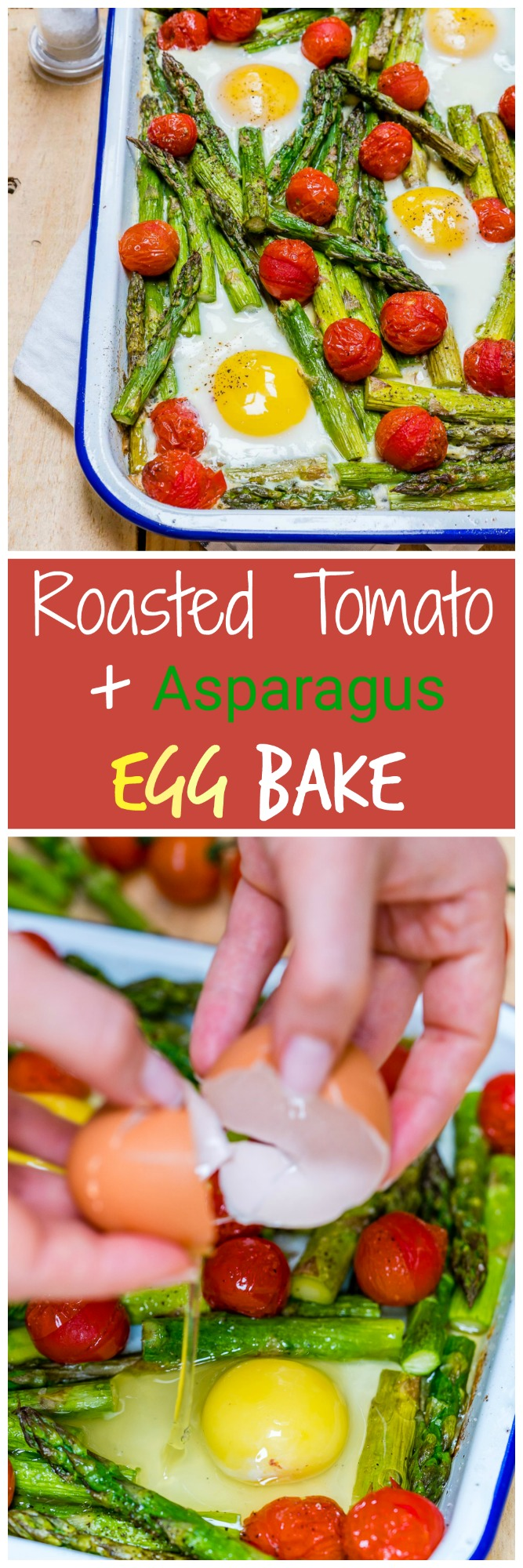 Roasted Tomato Asparagus Egg Bake Clean Recipe