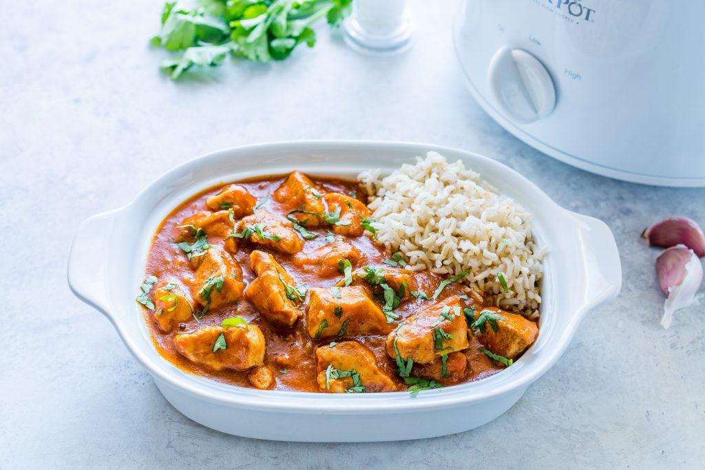 Slow-Cooker Chicken Tikka Masala Clean Eating Recipe