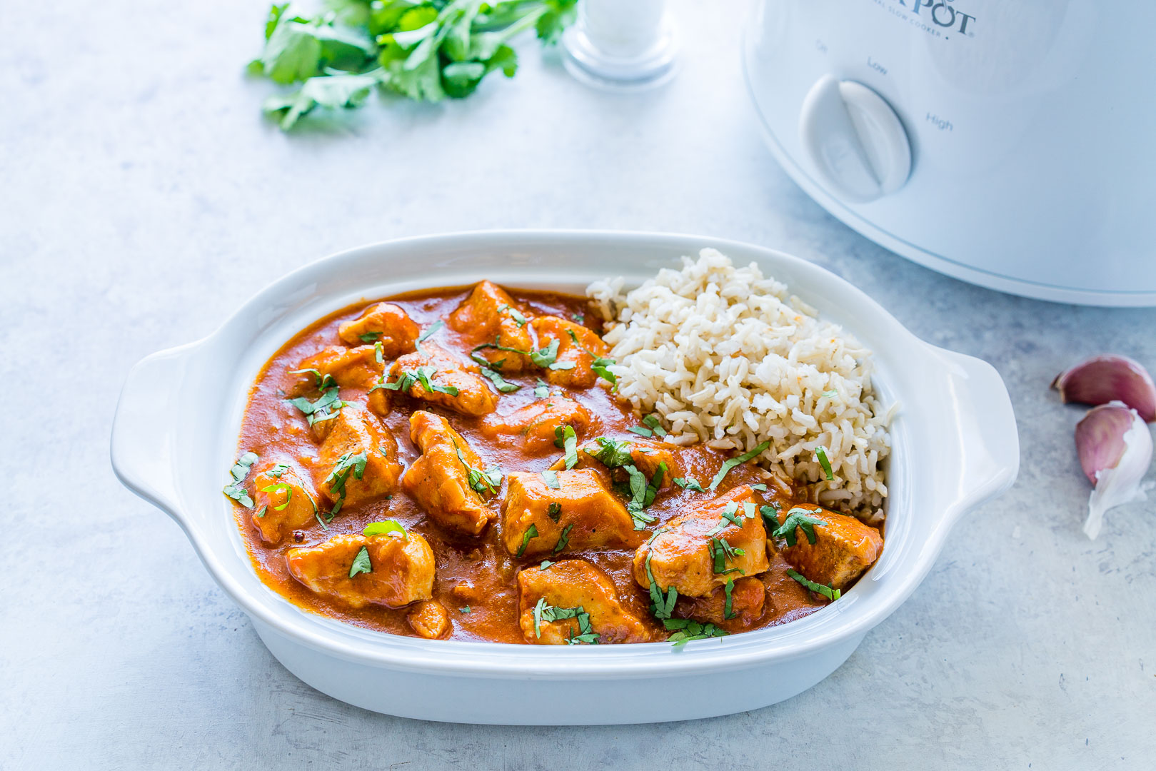 Slow-Cooker Chicken Tikka Masala Clean Eating Recipe
