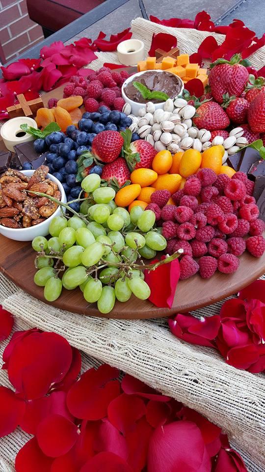 Eat Clean Cheese Fruit Platter Recipe