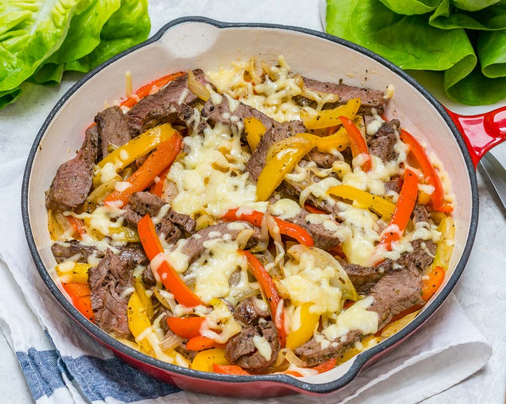 Low Carb Philly Cheesesteaks Meal Prep