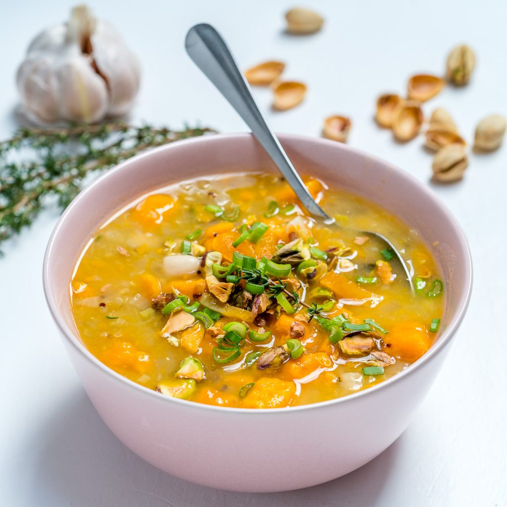 CleanFoodCrush Crock Pot Sweet Potato Quinoa Soup