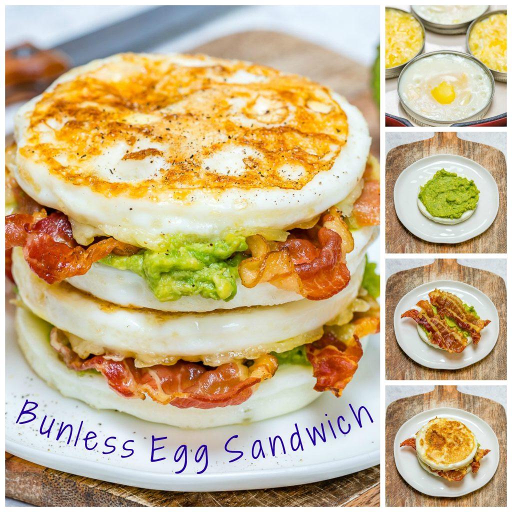 Skinny Buns Egg Sandwich Healthy Mornings