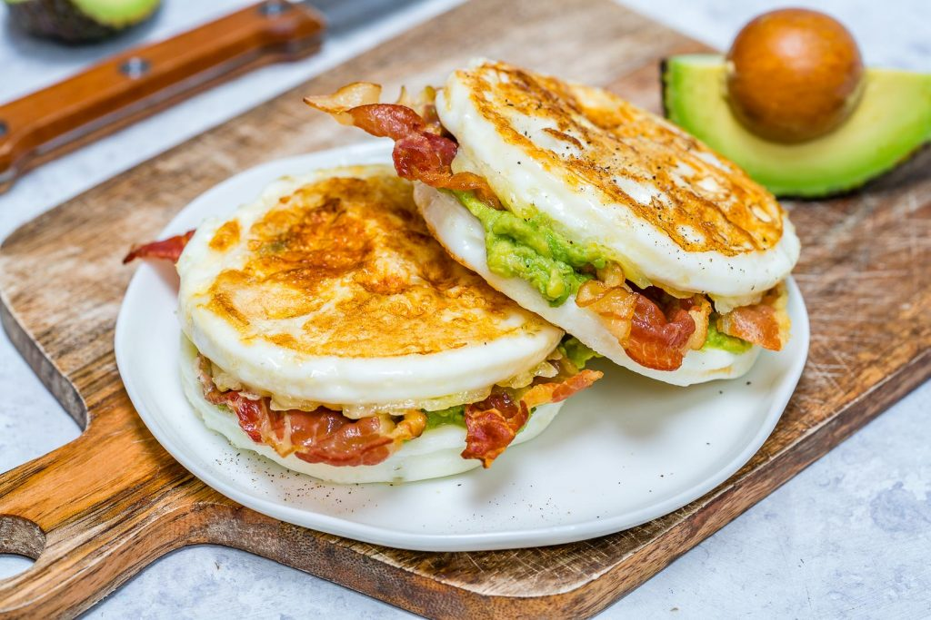 Clean Skinny Buns Egg Sandwich Recipe