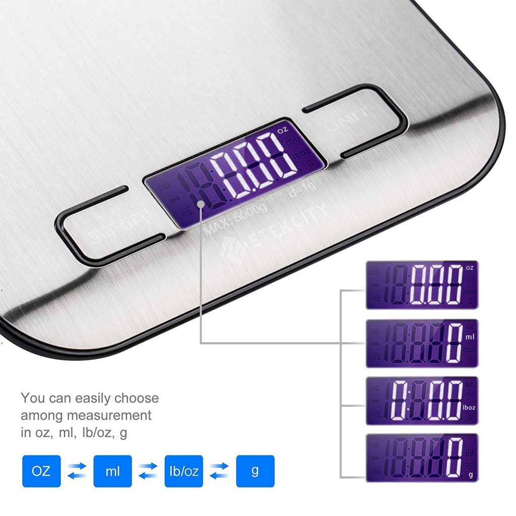 Food-scale meal prep device