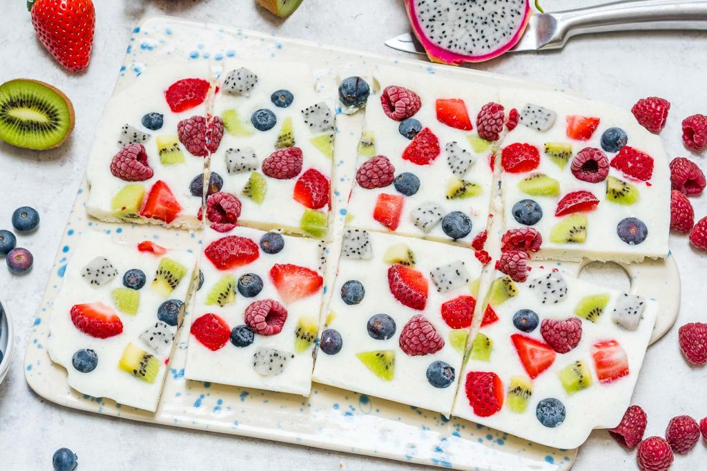 Fro-Yo Fruit Bark Sweet Dessert