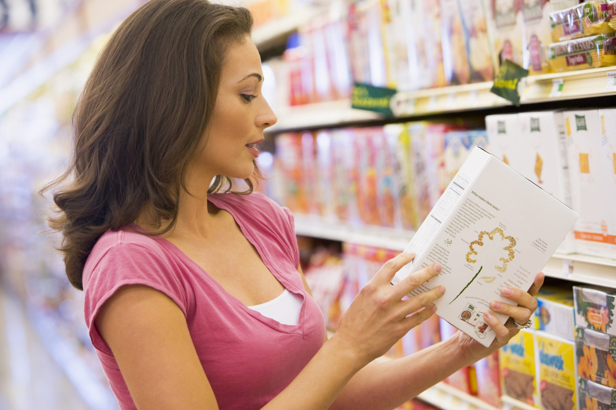 Nutrition reading on food labels
