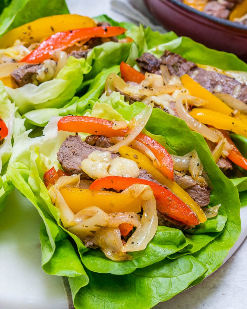 Low Carb Philly Cheesesteaks Recipe