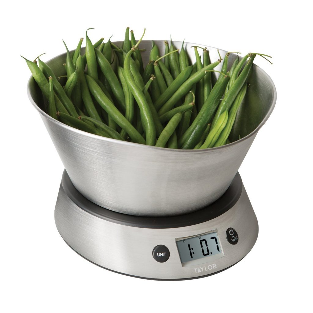Food Prep Weighing Bowl
