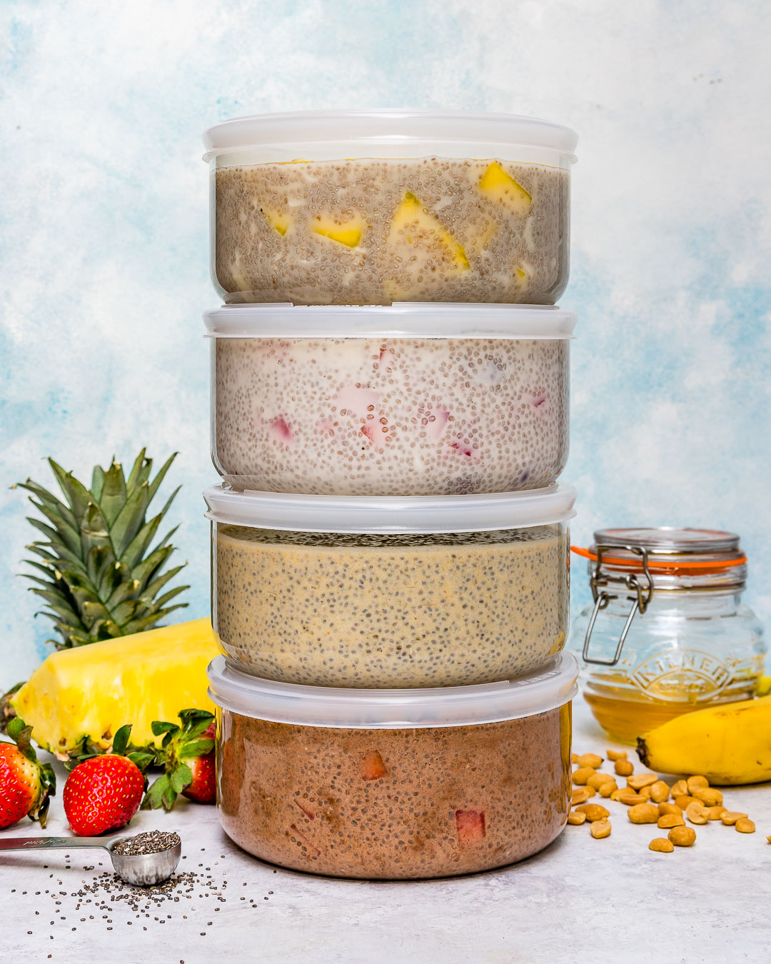 Four Clean Chia Pudding Recipes