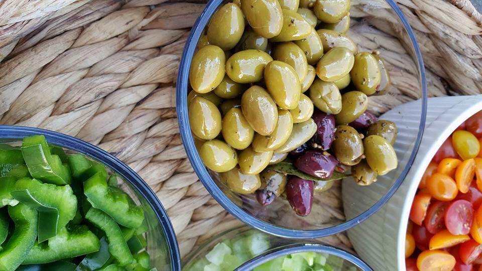 Clean Eating Chopped Salad Rachel Maser