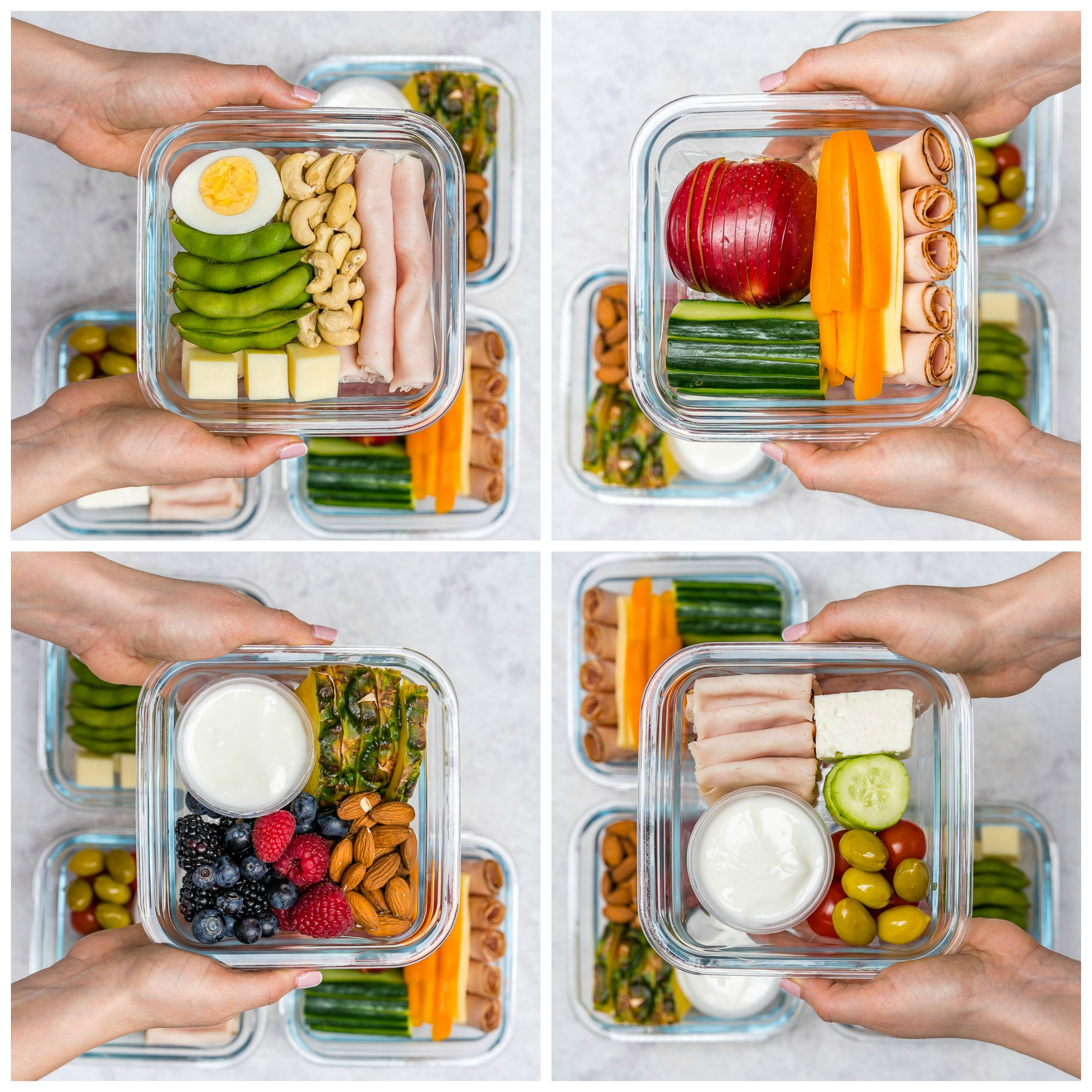 meal prep bento boxes 4 different ways clean eating on the go clean food crush. Black Bedroom Furniture Sets. Home Design Ideas
