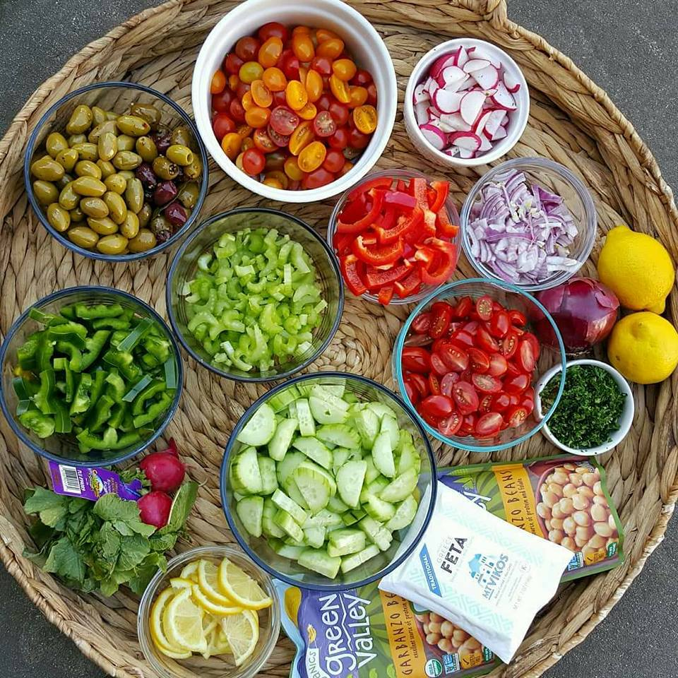 CleanFoodCrush Chopped Salad