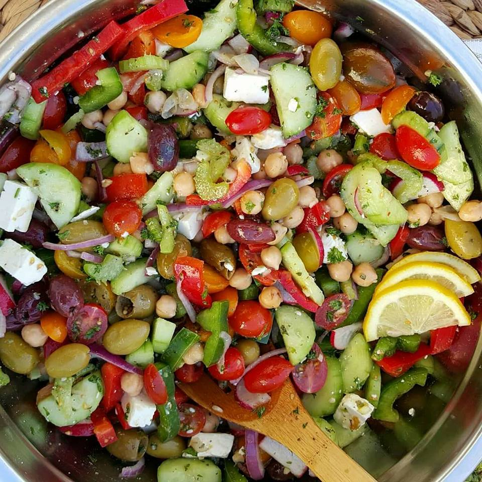 Healthy Chopped Salad Quick Dressing