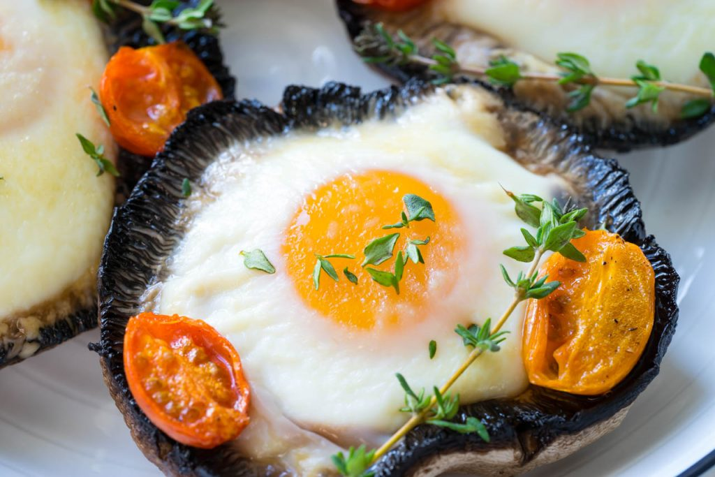 Portobello Baked Eggs Recipe