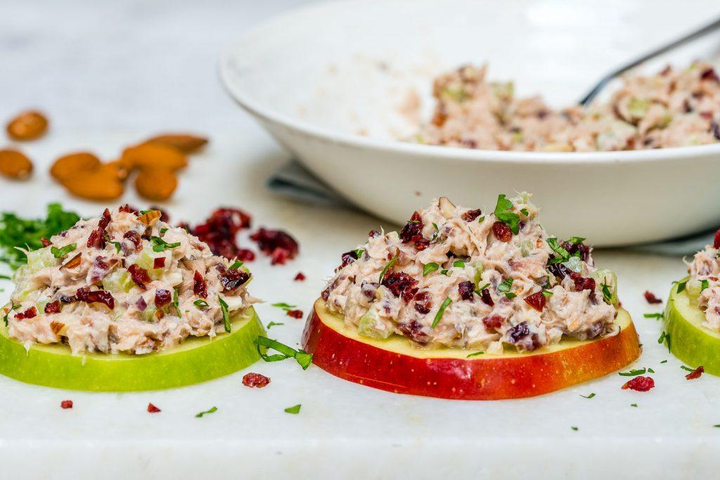 Crunchy Apple Tuna Bites Recipes