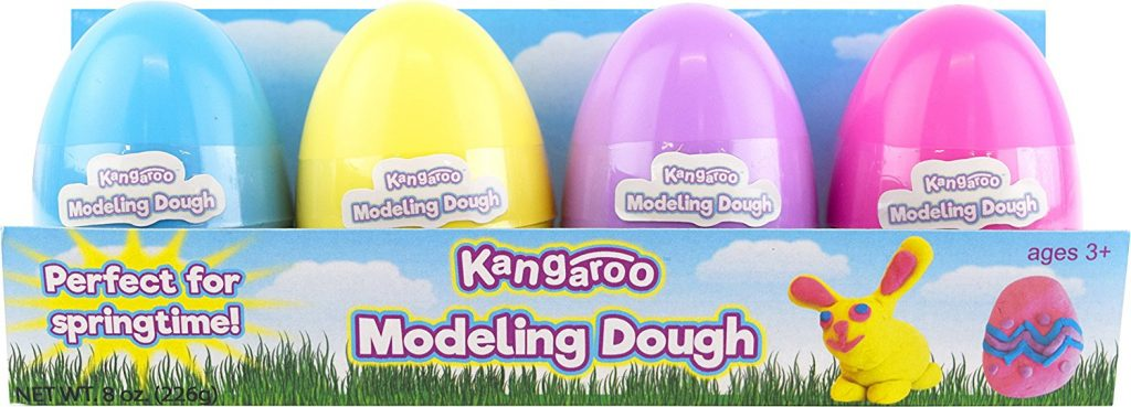 Fun Dough 4 Pack Easter Eggs Surprise