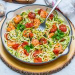Garlic Butter Salmon + Zoodles Recipe