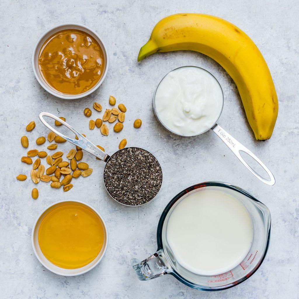 Peanut Butter Banana Chia Prep