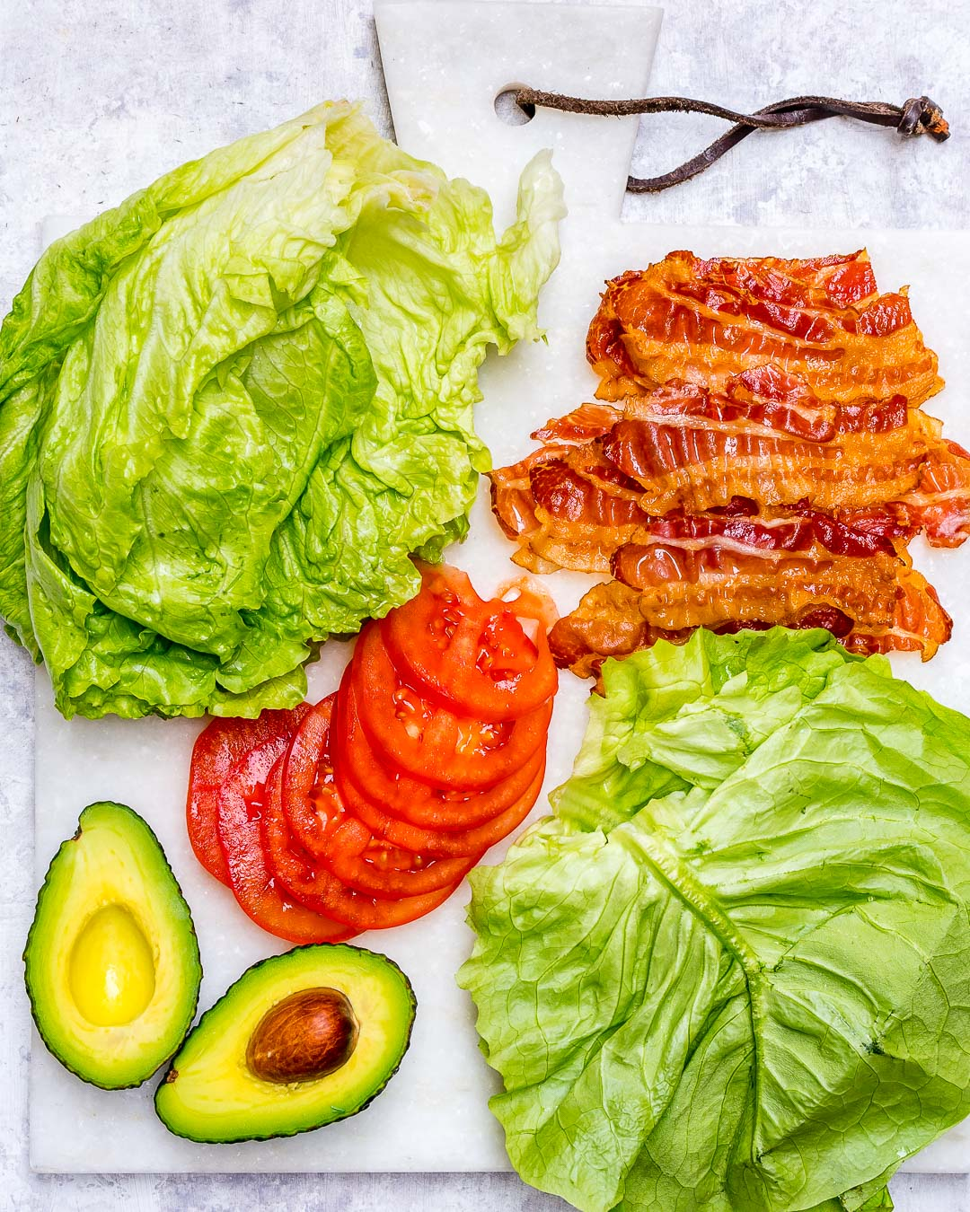 Skinny BLT Avocado Wraps Clean Ingredients