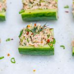 Wild Tuna Cucumber Boats Clean Eating
