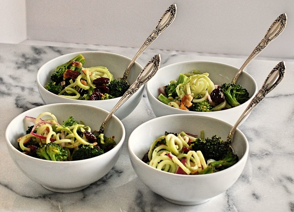 Eat Clean Broccoli Spirals Salad