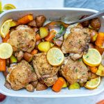 Clean Baked Lemon Chicken and Veggies