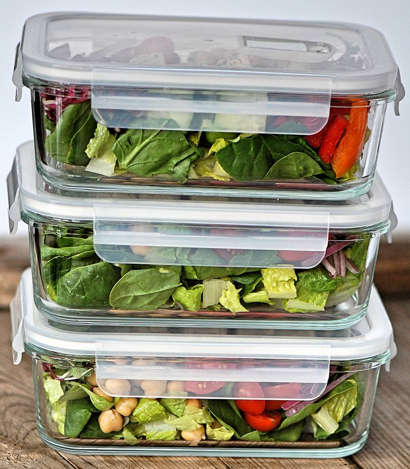 Clean Eating Salad Prep Ideas
