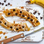 Clean Eats Almond Butter Chocolate Chip Bananas