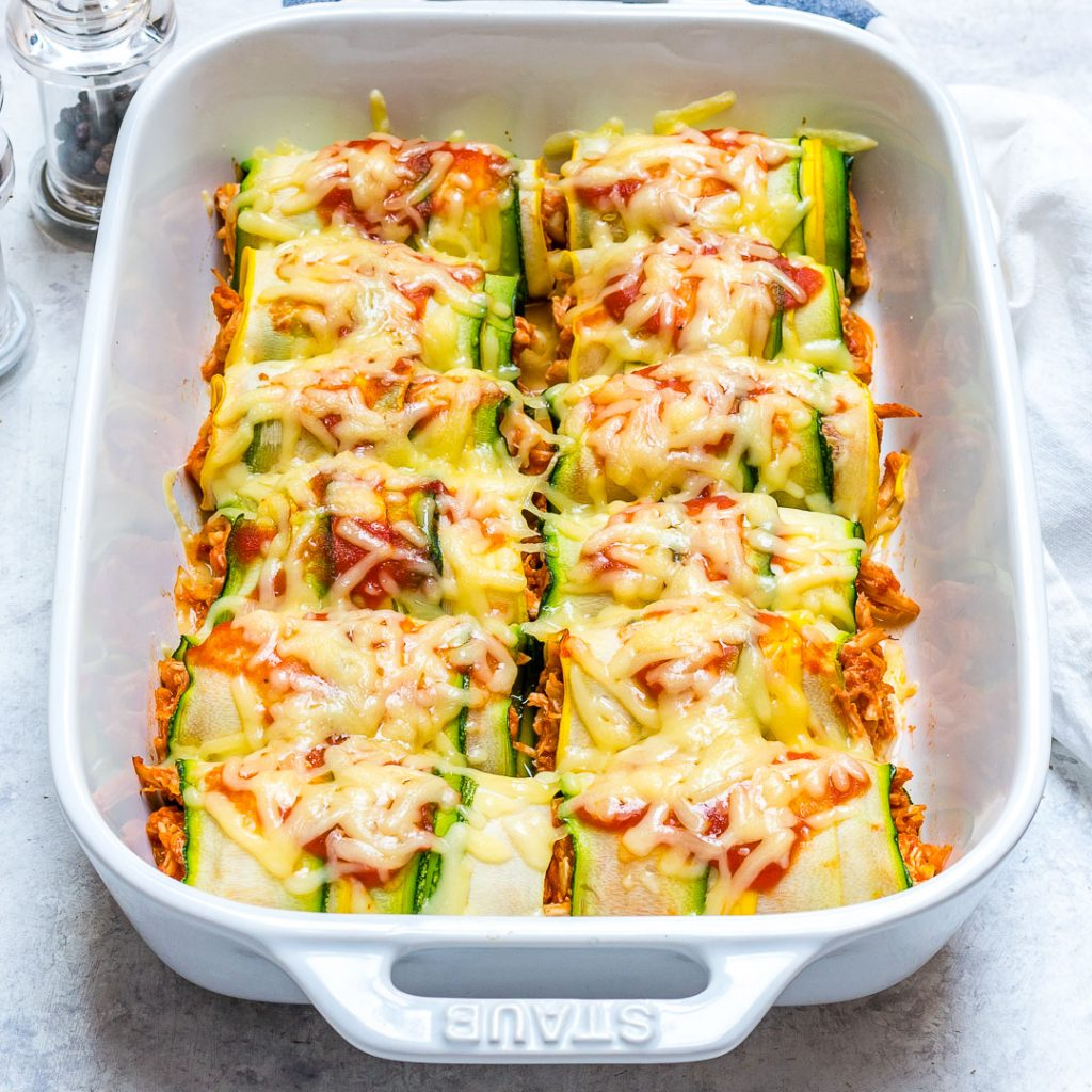 Special Zucchini Chicken Enchilada
