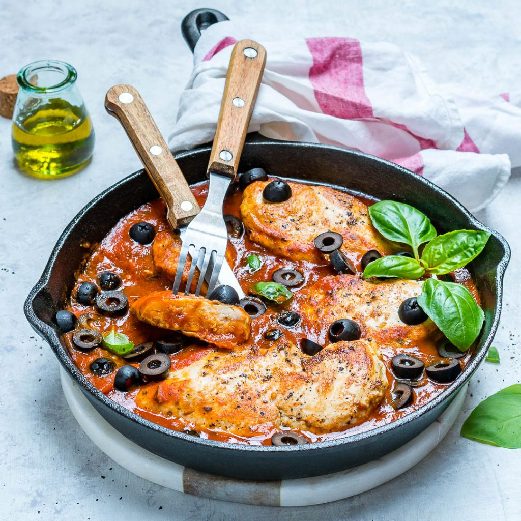 One-Pan Mediterranean Chicken Recipe