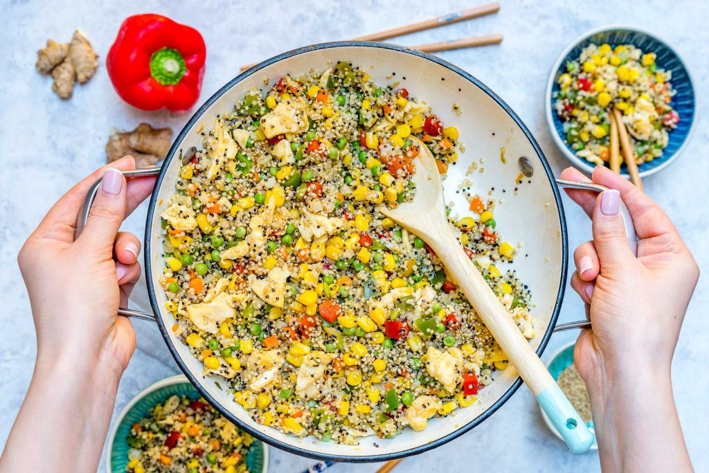 Clean Quinoa Fried Rice Recipe